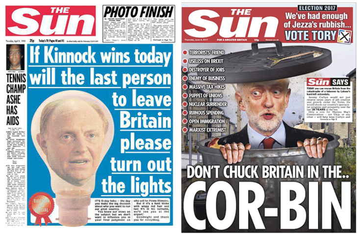 The Sun headlines